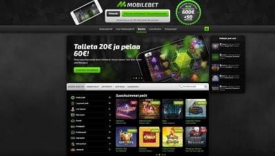 Lue täältä Mobilebet -pelisivuston tarjonta ja arvostelu!