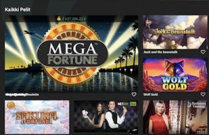 Fastbet Casino kolikkopelit