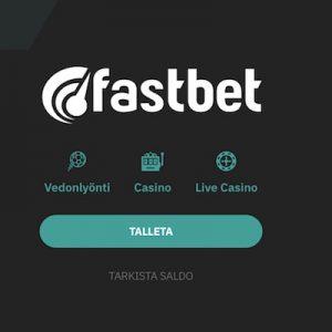 Fastbet -nettikasino ilman tiliä