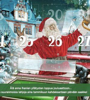 MrGreenin suuri joulukalenteri