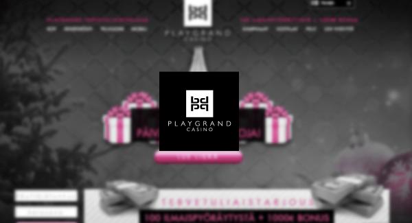 PlayGrand Casino bonukset