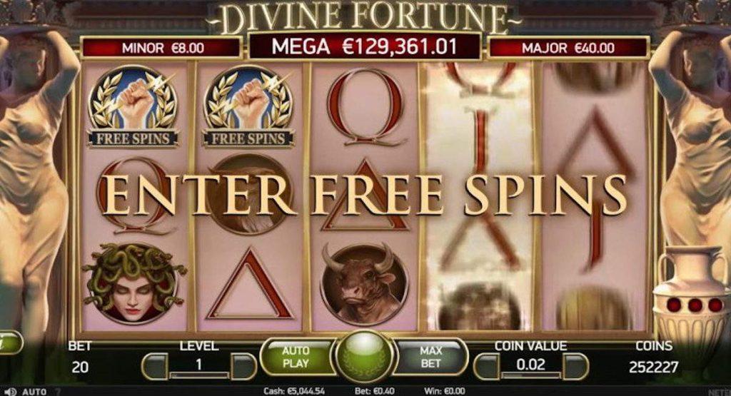 NetEnt Divine Fortune -kolikkopeli