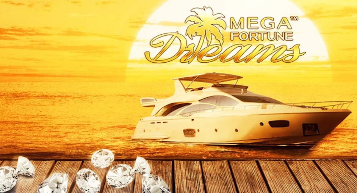 Mega Fortune Dreams jackpot-peli