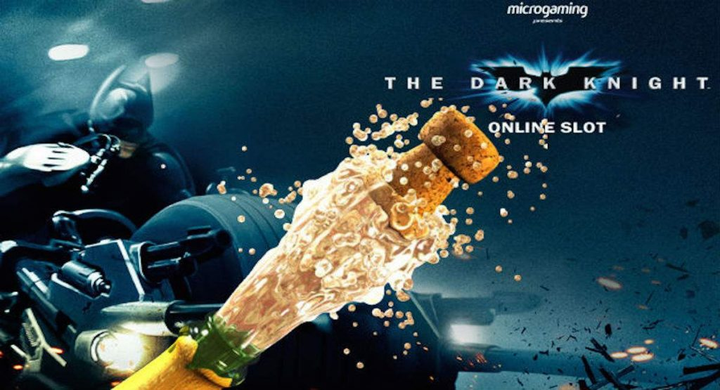 Microgaming The Dark Knight peli
