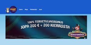 Pingo Casino bonus