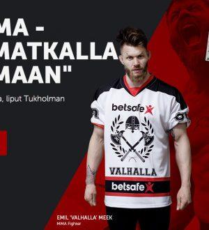 Voita MMA-matka Tukholmaan