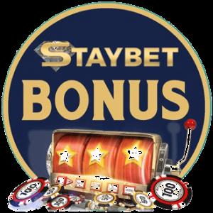 StayBet casino -bonus on varsin kilpailukykyistä luokkaa