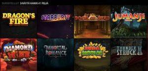 VooDooDreams kolikko- ja jackpot-pelit