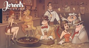 Joreels Casinolla vallitsee 1950-luvun tunnelma.