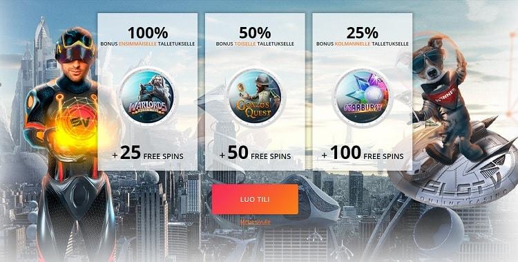 SlotV csainon bonus on kilpailukykyistä luokkaa