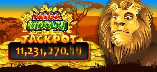 Mega Moolah suurimmat jackpotit