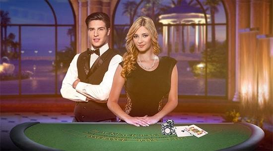 Betsson live-kasino blackjack