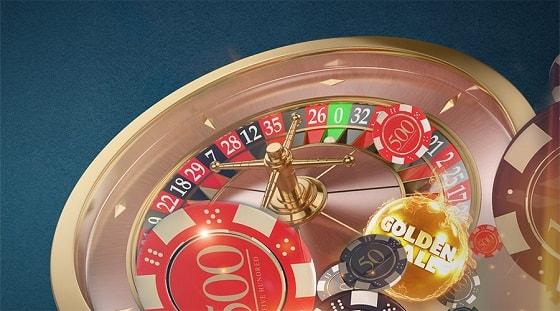 Betsson Golden Ball Roulette -peli