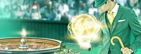 Mr Greenin kasinon Golden Ball Roulette -turnaus