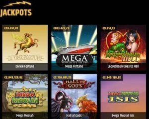 Metal Casino jackpot-pelit
