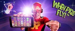 Rizk Casinon suurin voitto Suomessa ikinä, yli 100 000 euroa saavutettiin eilen When Pigs Fly -pelissä! Pelaa, ja ehkä sinä olet Rizkin seuraava suurvoittaja!