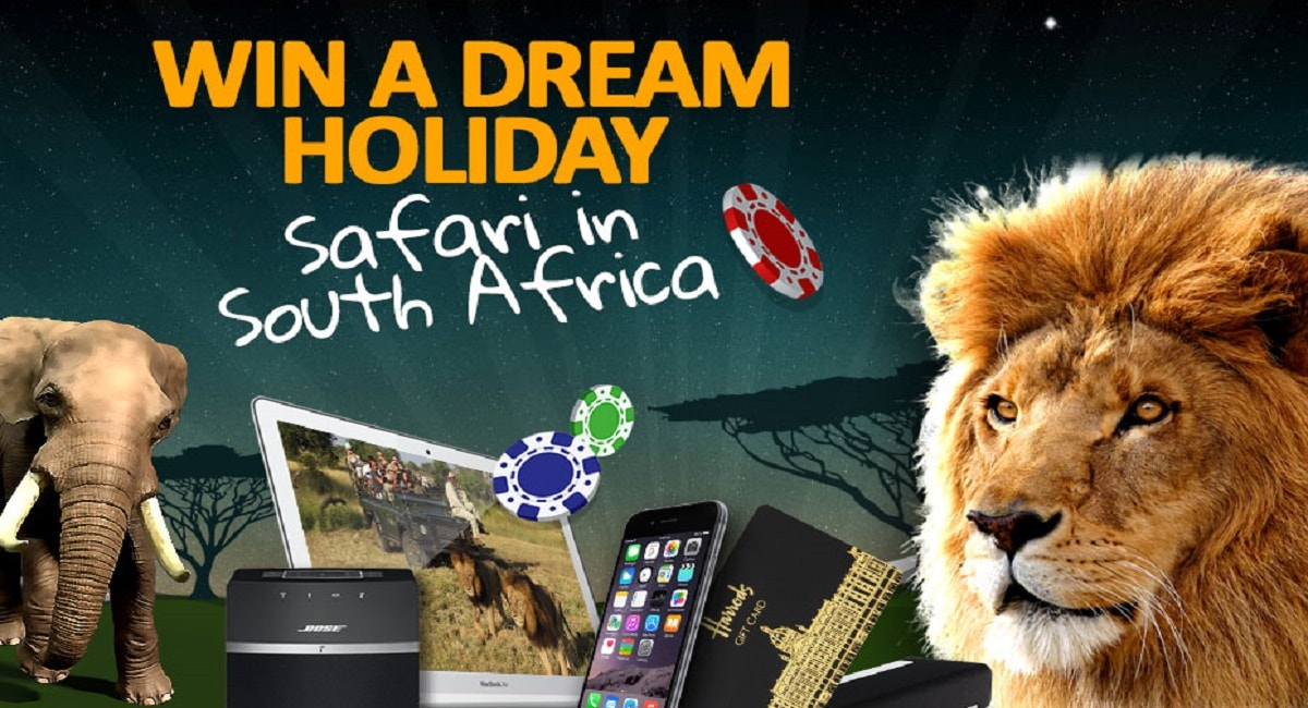 Spinland tarjoaa pelaajilleen matkan Etelä-Afrikkaan! Nappaa bonukset ja osallistu arvontaan!