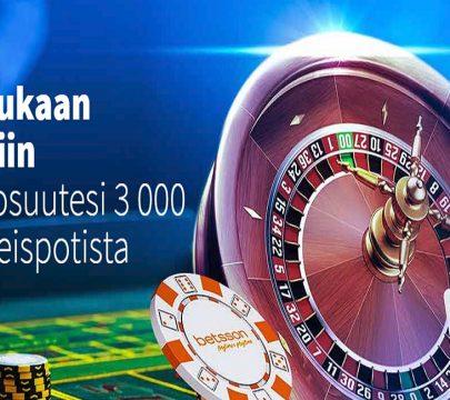 Pelaa rulettia Betssonilla ja osallistu 3 000 euron rahajahtiin!