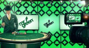 Mr Greenin live-kasinolla voi voittaa nyt helppoja casinobonuksia!