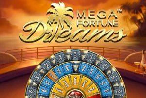 Ilmaiskierrokset Mega Fortune Dreams -jackpot-peliin