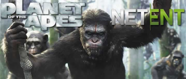 Grab free spins for the new Planet of the Apes slot game!