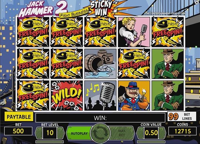 Lue Jack Hammer 2 -pelin mahtavasta palautusprosentista (RTP) ja erikoisominaisuuksista!