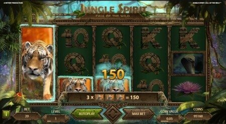 Read about Jungle Spirit: Call of the Wild return percentage, experiences and special features!
