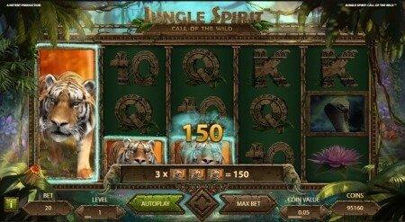 Lue Jungle Spirit: Call of the Wild -palautusprosentista, kokemuksista ja erikoisominaisuuksista!