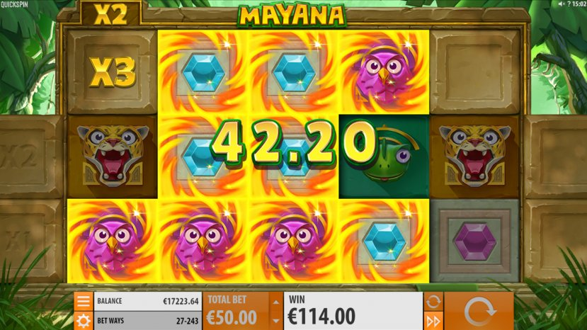 Grab big wins in Quickspin's Mayana!
