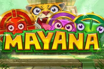 Try the fun Mayana slot game with free spins!