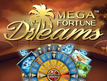 Voita Mega Fortune Dreamsin jättipotti!