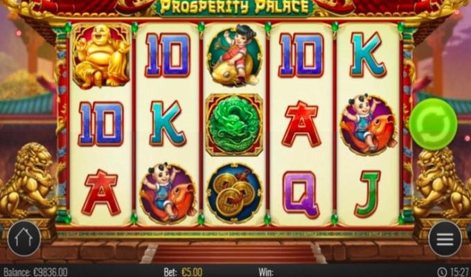 Enjoy Prosperity Palace at online casinos.casino!