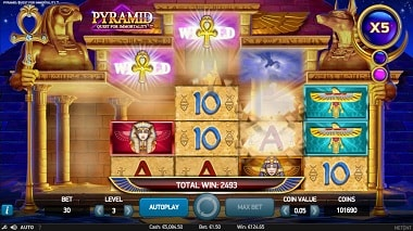 Win big in the Net Ent Pyramid: Quest for Immortality slot game!