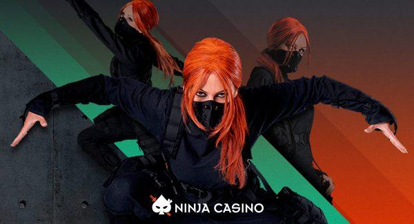 Ninja Casinon arvostelu, bonukset ja ilmaiskierrokset