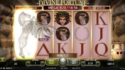 Lue täältä Divine Fortune -ominaisuudet, RTP (palautusprosentti), panostasot, ja kokemuksia!