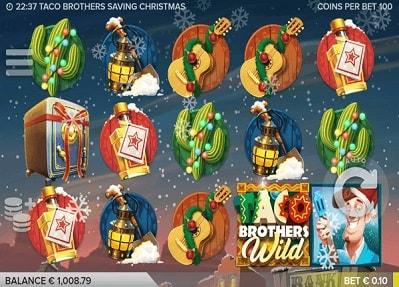 Lue täältä Taco Brothers Saving Christmas -arvostelu ja tsekkaa myös palautusprosentti (RTP) sekä pelin erikoisominaisuudet ja panostasot!