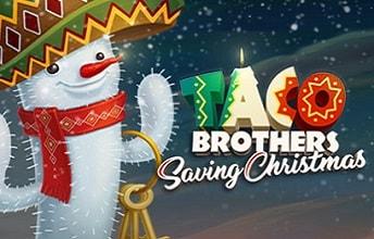 Lue tästä Taco Brothers Saving Christmas arvostelu ja nauti myös ilmaiskierrokset jouluiseen Elk Studios -kolikkopeliin!