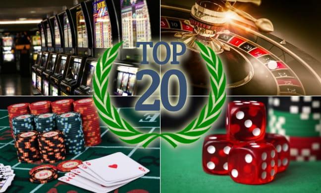 Parhaat nettikasinot TOP20 lista