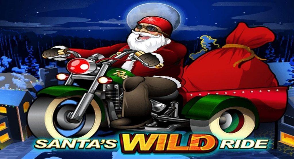 Lue täältä Santa's Wild Ride -arvostelu ja nappaa ilmaiskierroksia jouluisaan kolikkopeliin!