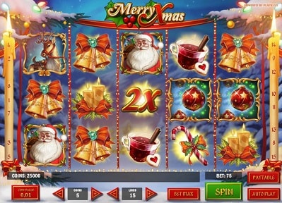 Löydät täältä Merry Xmas -pelin palautusprosentin (RTP), kokemuksia ja maksimivoiton!