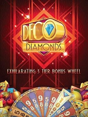Nauti täältä Deco Diamonds -ilmaiskierroksia Microgaming-uutuuspeliin!