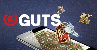 Kokeile Gutsia tallettamalla Piggy Riches -spinneillä ja nappaa 400€ bonusrahaa!