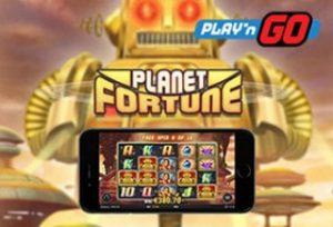 Nappaa Planet Fortune -ilmaiskierroksia Play'n Go -uutuuspeliin täältä!