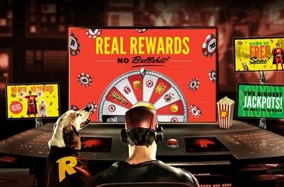 Nappaa Wheel of Rizkin avulla huikeita kasinopalkintoja Rizk Casinolle!