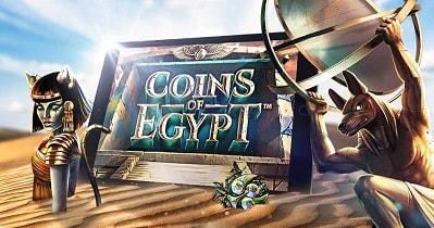 Nappaa täältä ilmaispelejä ja bonareita Coins of Egypt -yksinoikeuspeliin Betssonilla!