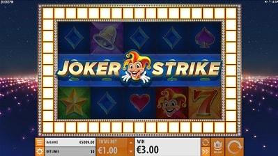 Löydä täältä Joker Strike -pelin suurin voitto, erikoisominaisuudet, panostasot ja muuta!
