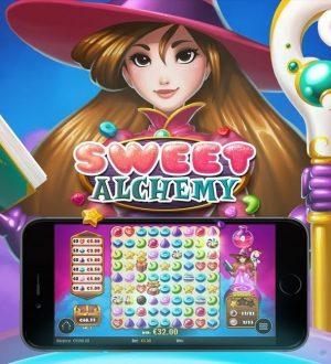 Lue Sweet Alchemy (Play'n Go) -kolikkopelin arvostelu ja muiden pelaajien kokemuksia täältä!