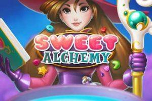 Nappaa ilmaispelejä ja bonuksia uuteen Sweet Alchemy -slottiin!
