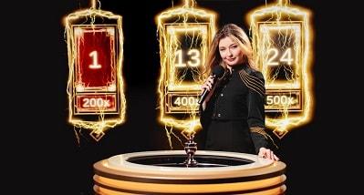 Pelaa uutta live-peliä Lightning Roulettea (Evolution Gaming) ja nappaa osuus 15 000€ potista!