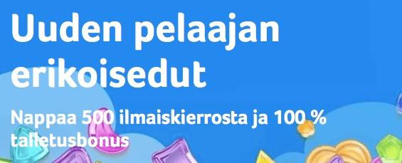 Nappaa Kolikkopelit.comin tervetuliaispaketti talteen täältä!